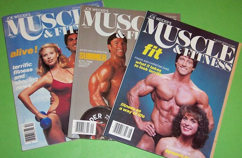 Old Muscle Magazines, Vintage Muscle Magazine Back Issues